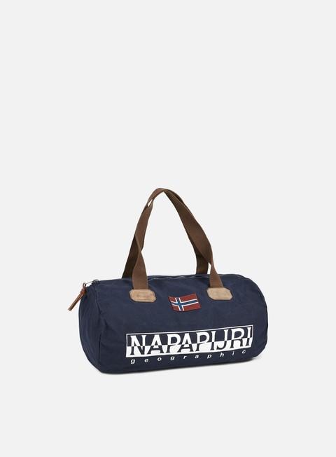 accessori napapijri bering small duffle bag blu marine