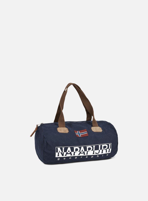 Napapijri - Bering Small Duffle Bag, Blu Marine
