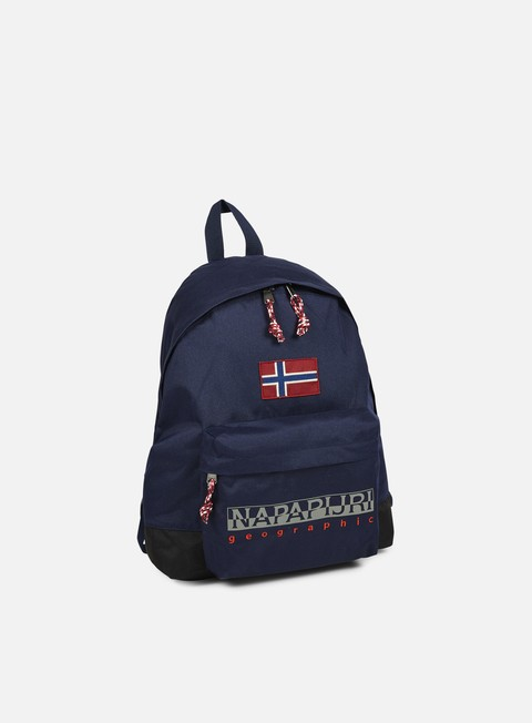 accessori napapijri hack backpack blu marine