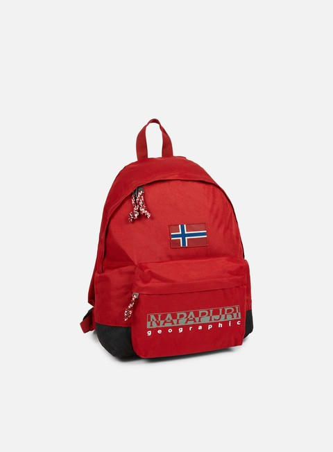 accessori napapijri hack backpack old red
