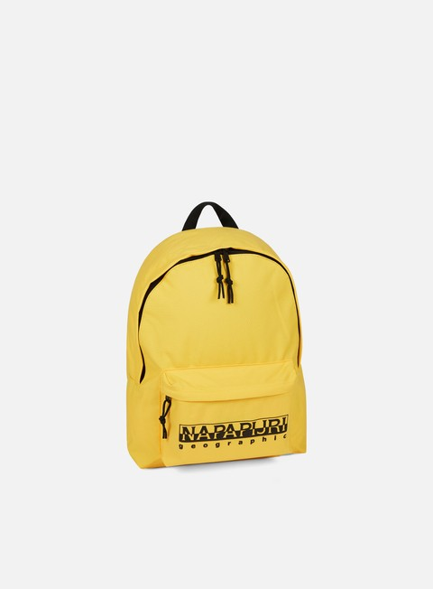 accessori napapijri hala backpack spark yellow