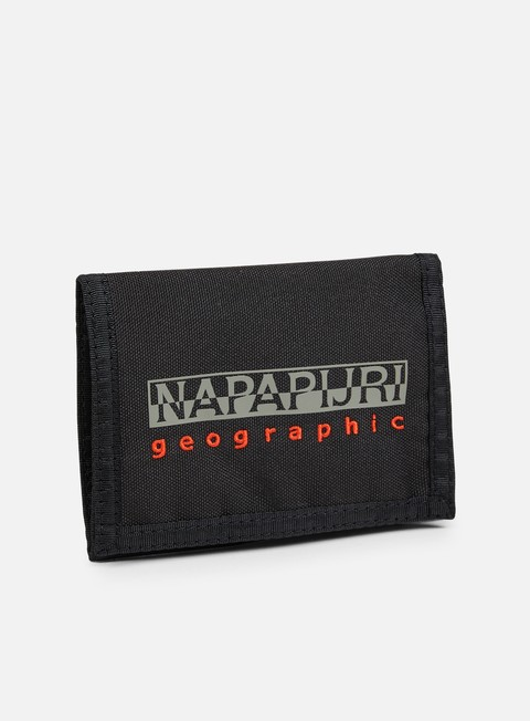 accessori napapijri hallet wallet black