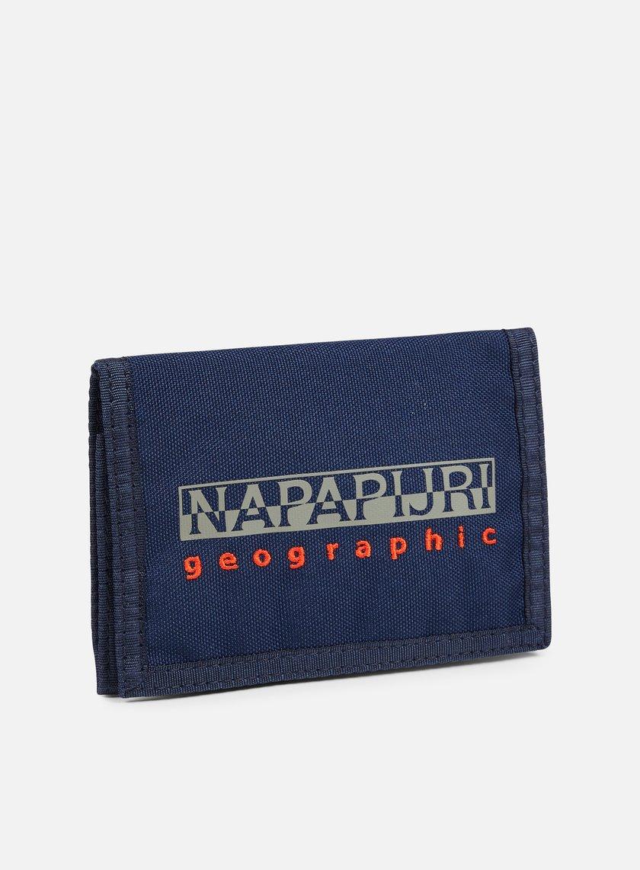 Napapijri - Hallet Wallet, Blu Marine