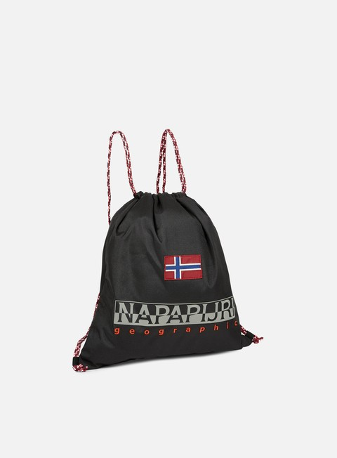accessori napapijri hym gymsack black