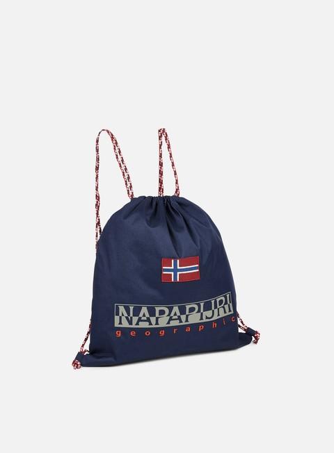 accessori napapijri hym gymsack blu marine