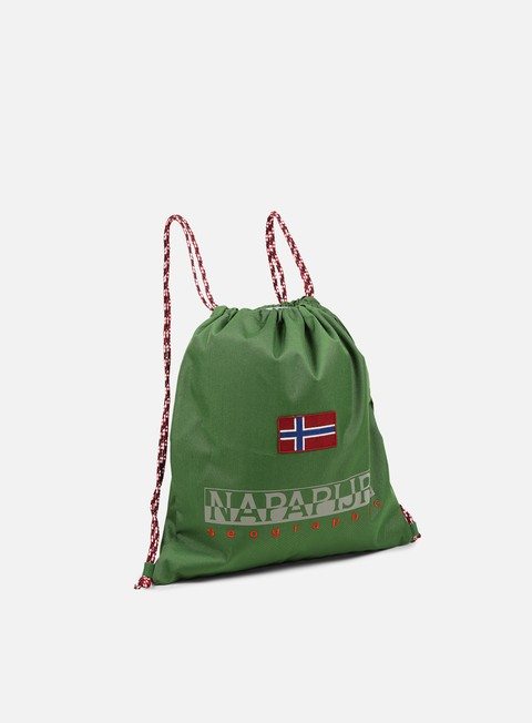 accessori napapijri hym gymsack fresh green