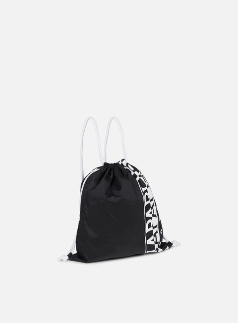 accessori napapijri logo gym sack black