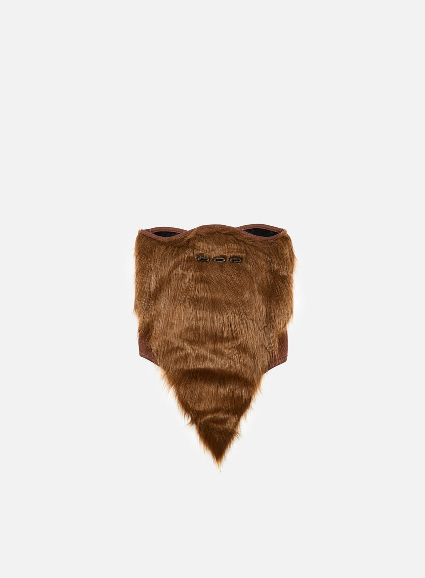 Neff - Bearded Facemask, Brown