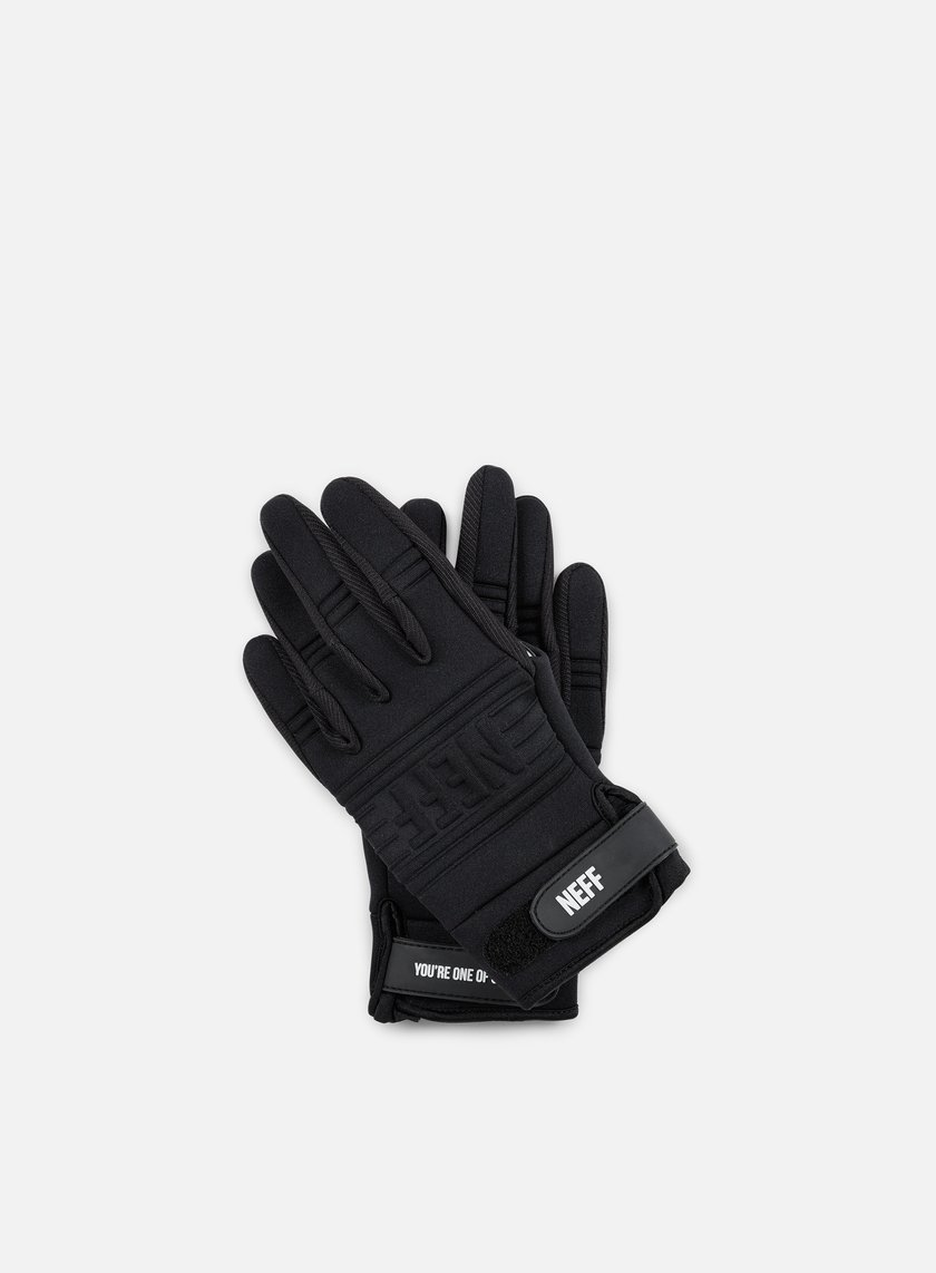 Neff - Daily Pipes Gloves, Black