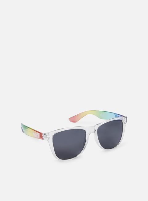 accessori neff daily shades sunglasses rainbow