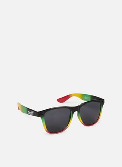 Neff - Daily Shades Sunglasses, Rasta Spray 1