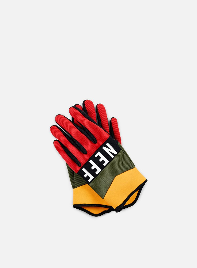 Neff - Ripper Gloves, Rasta