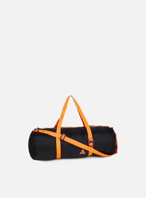 accessori nike acg packable duffle bag night purple black bright mandarin