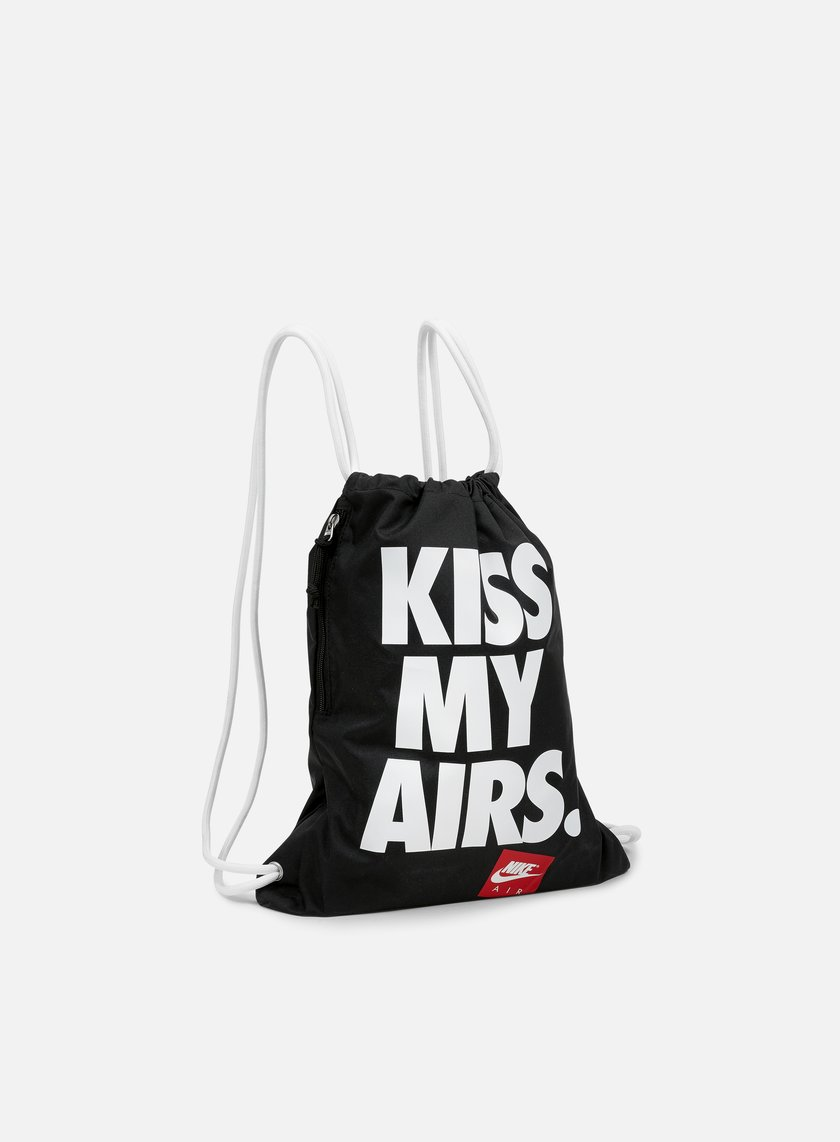 Nike - Heritage Graphic Gymsack, Black/White