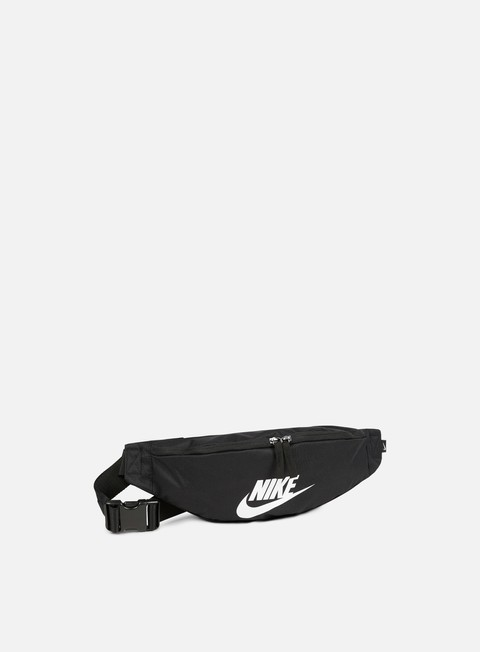 accessori nike heritage hip pack black white