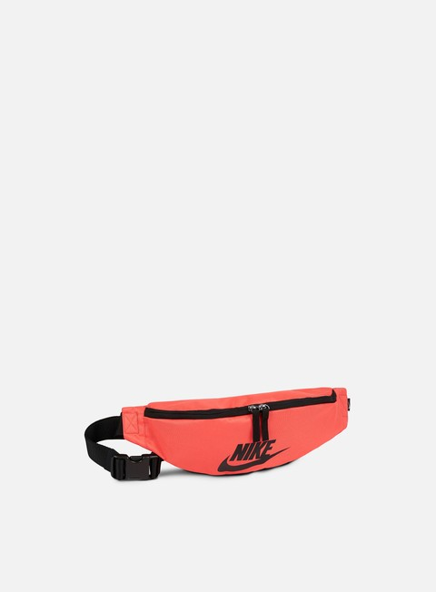 accessori nike heritage hip pack rush coral black