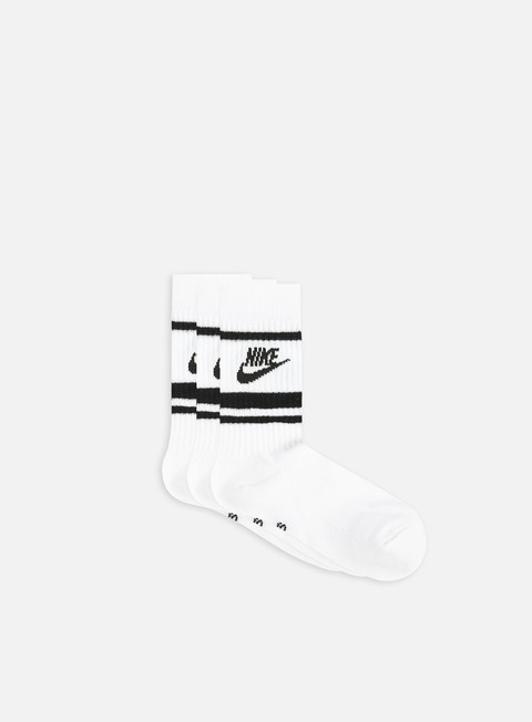 Socks Nike NSW Essential 3 Pack Striped Crew Socks