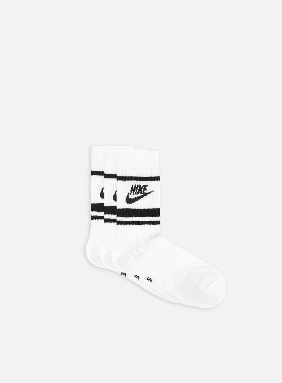 Nike NSW Essential 3 Pack Striped Crew Socks
