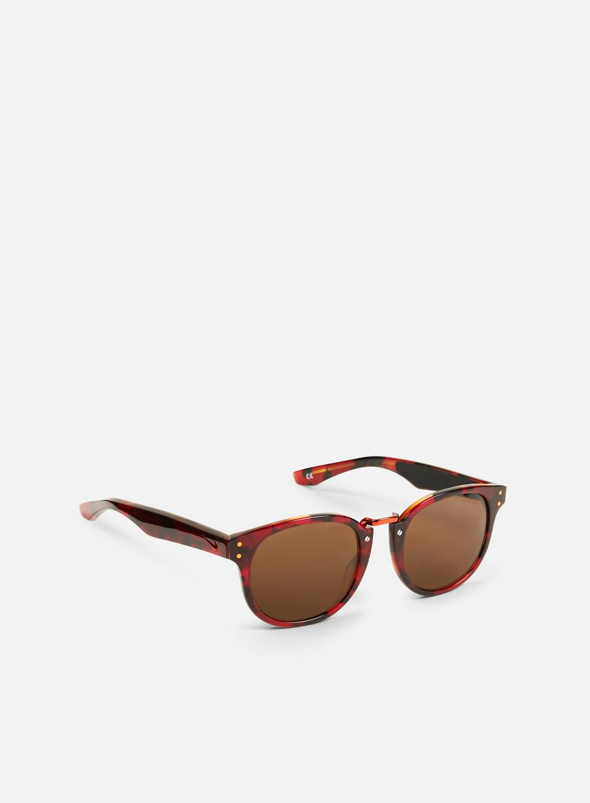 Nike SB - Achieve Sunglasses, Team Red Tortoise/Total Orange/Brown
