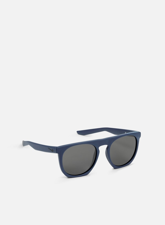 Nike SB - Flatspot Sunglasses, Matte Squadron Blue/Tide Pool Blue/Grey