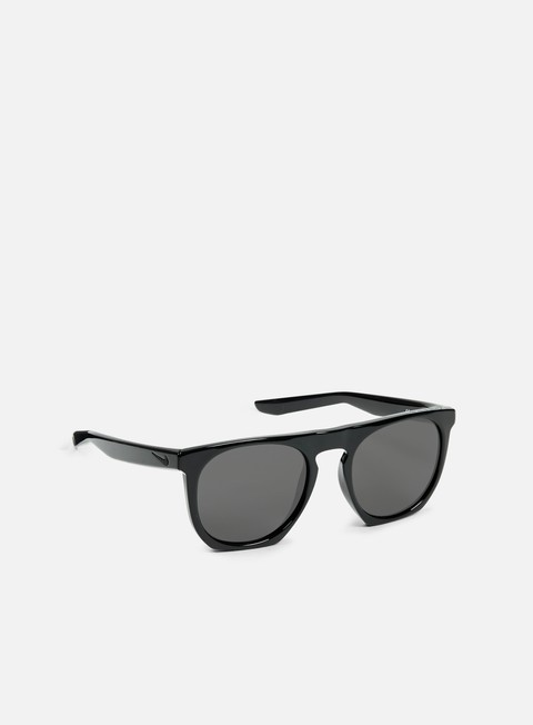 accessori nike sb flatspot sunglasses polished black grey