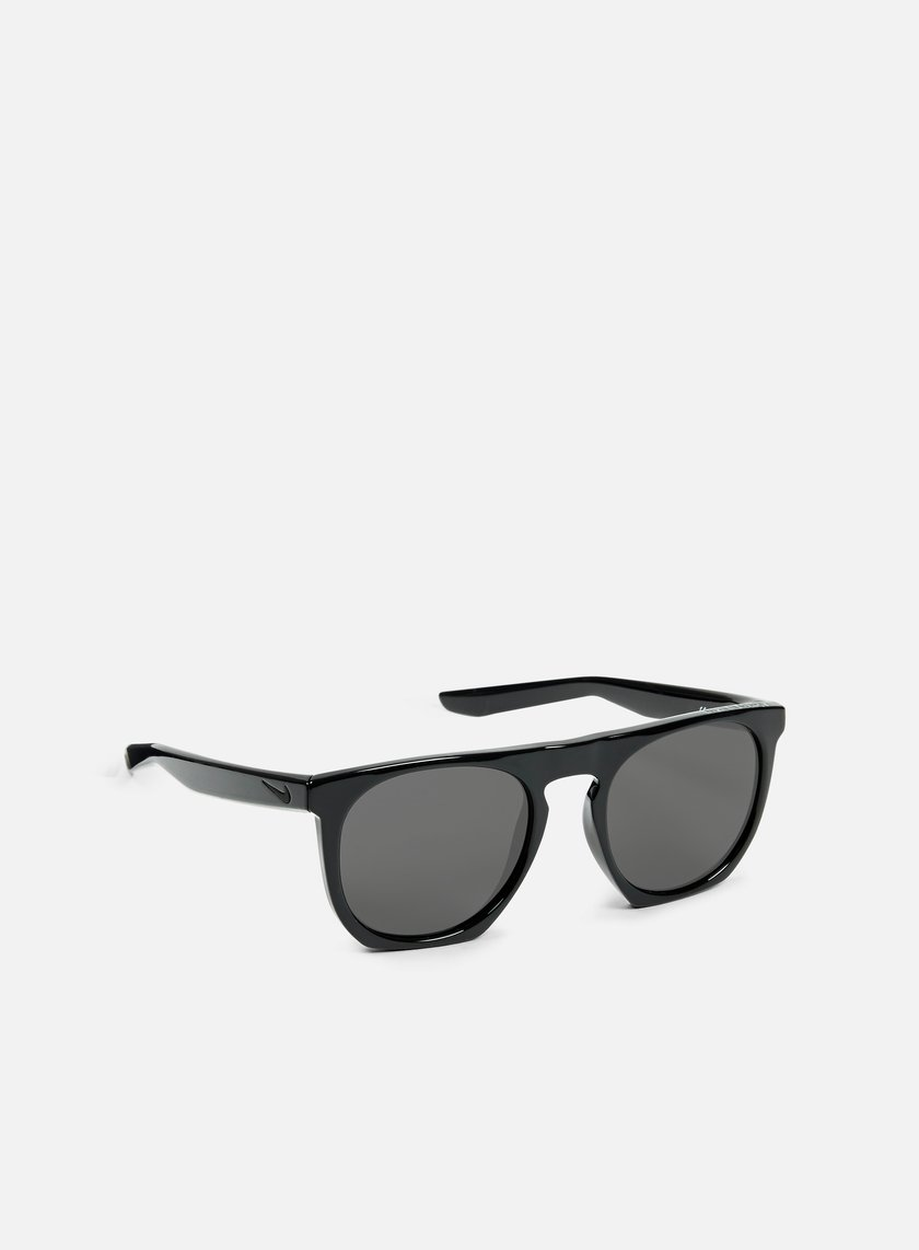 Nike SB - Flatspot Sunglasses, Polished Black/Grey