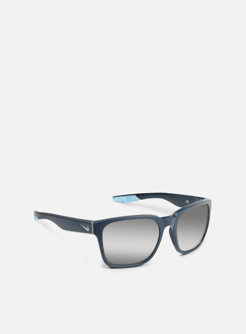Nike SB - Recover R Sunglasses, Matte Squadron Blue/Tide Pool Blue/Super Silver Flash