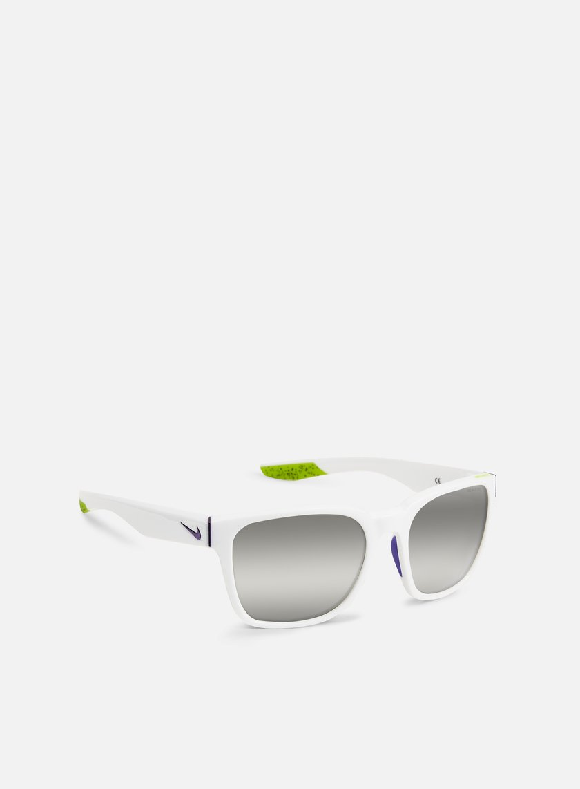 Nike SB - Recover R Sunglasses, White/Dark Concord/Super Silver Flash