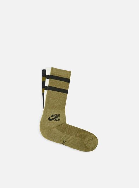 Outlet e Saldi Calze Nike SB SB 3 Pack Crew Socks