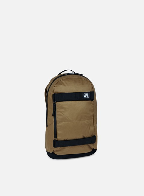 accessori nike sb sb courthouse backpack golden beige black