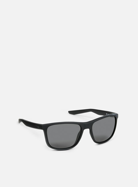 accessori nike sb unrest polarized sunglasses matte black grey polarized