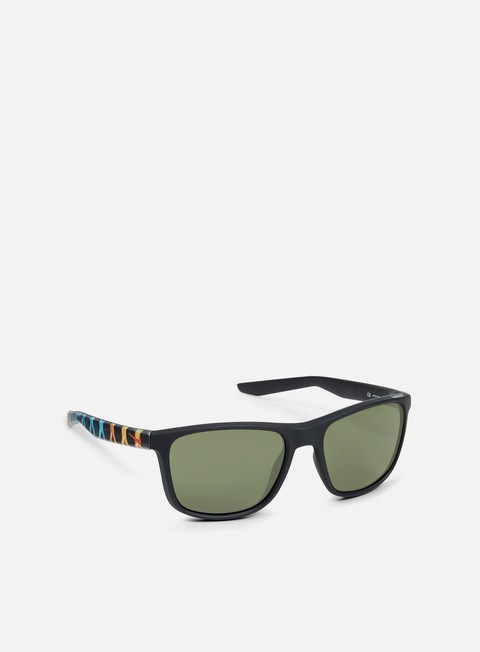 accessori nike sb unrest se sunglasses matte black cinnabar green