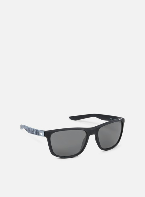 accessori nike sb unrest se sunglasses matte dark obsidian white grey