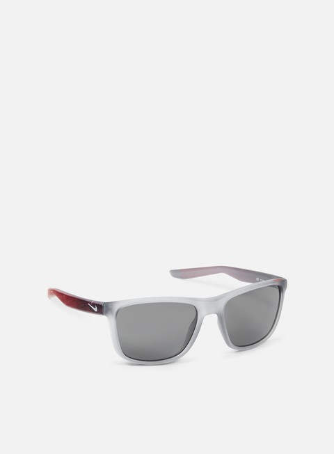 accessori nike sb unrest se sunglasses matte wolf grey gym red grey