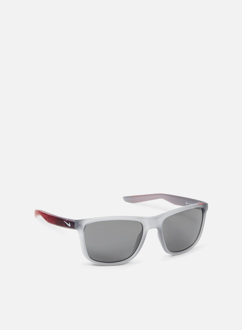 Nike SB - Unrest SE Sunglasses, Matte Wolf Grey/Gym Red/Grey
