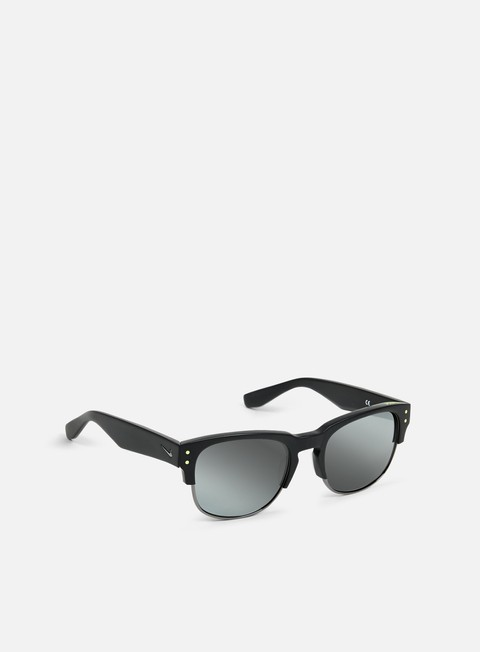 accessori nike sb volition sunglasses matte black gunmetal silver flash
