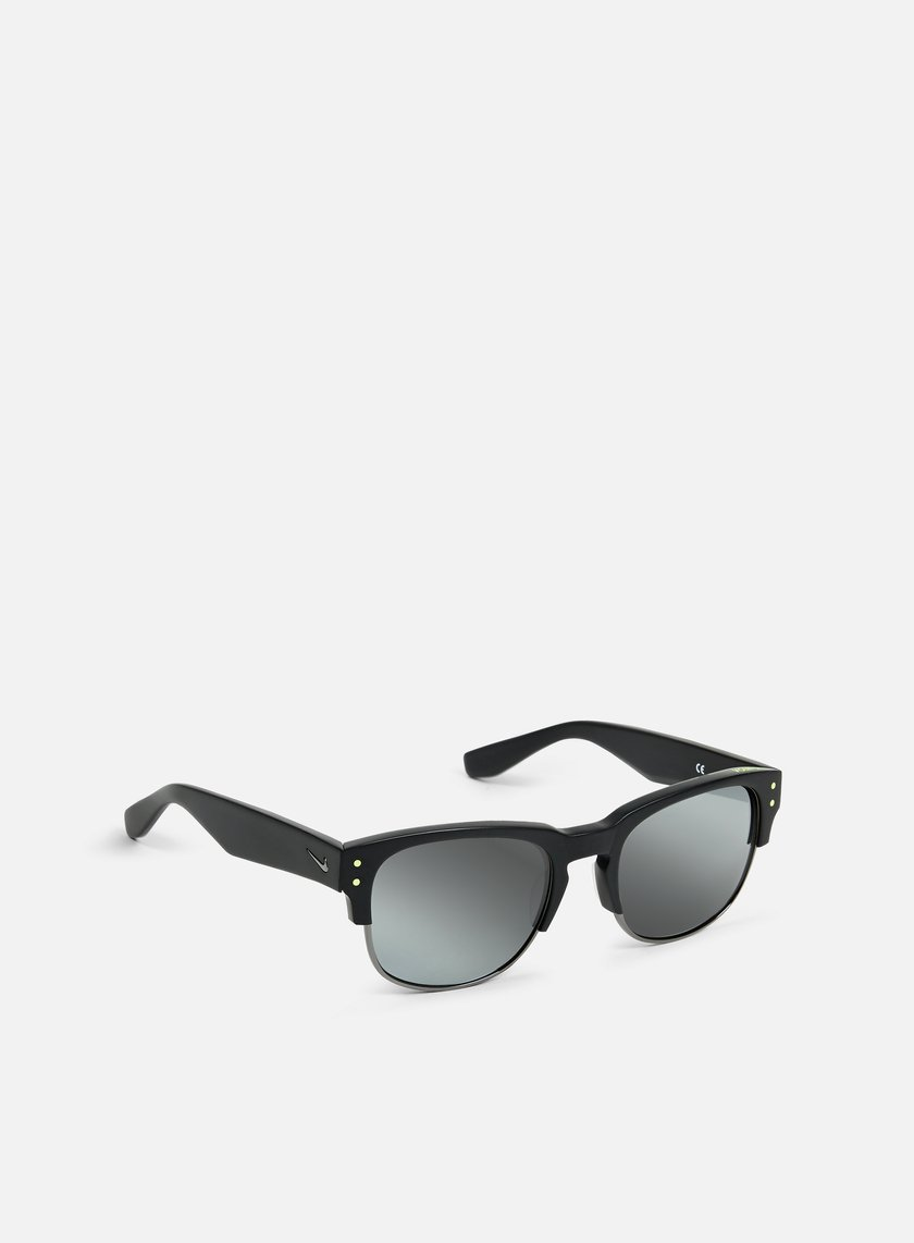 Nike SB - Volition Sunglasses, Matte Black/Gunmetal/Silver Flash