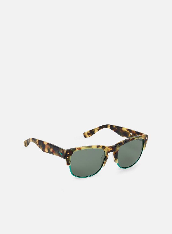 Nike SB - Volition Sunglasses, Matte Tokyo Tortoise/Hyper Jade/Teal