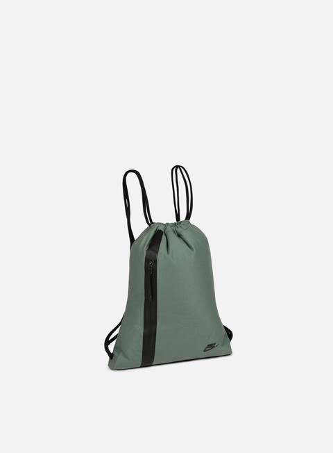 accessori nike sportswear tech gymsack clay green black