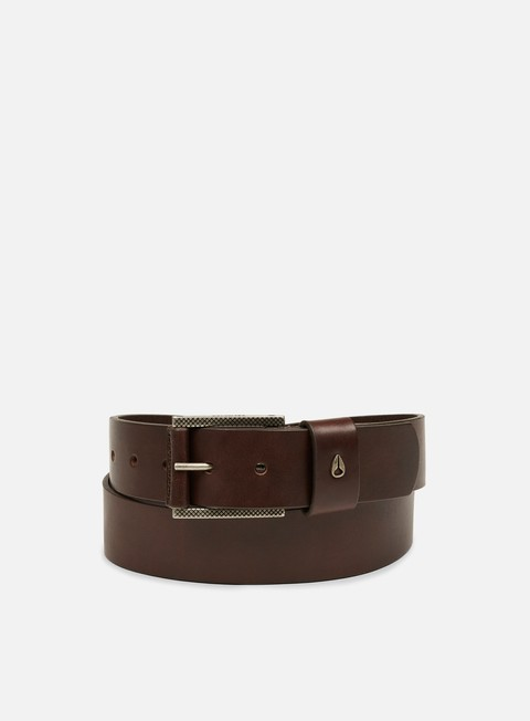 accessori nixon americana belt ii dark brown