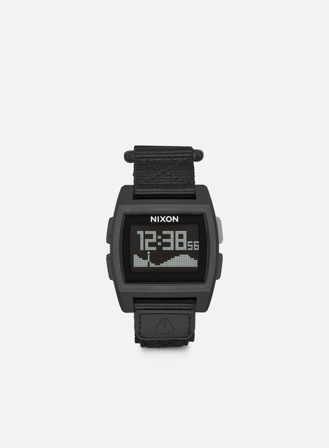 accessori nixon base tide nylon all black