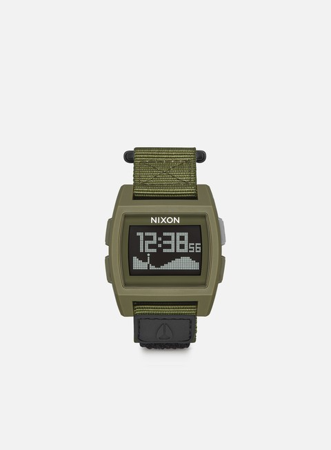 Outlet e Saldi Orologi Nixon Base Tide Nylon