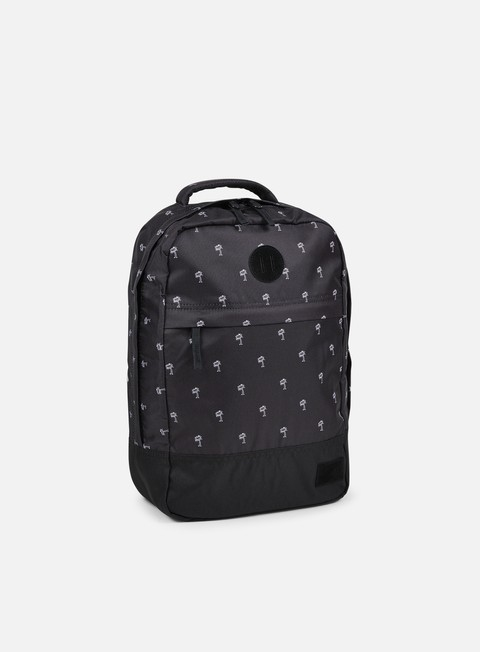 accessori nixon beacons backpack black white