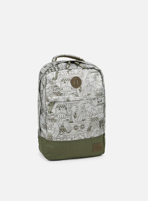 accessori nixon beacons backpack olive