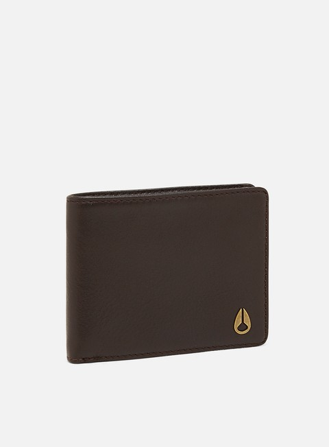 Portafogli Nixon Cape Leather Coin Wallet