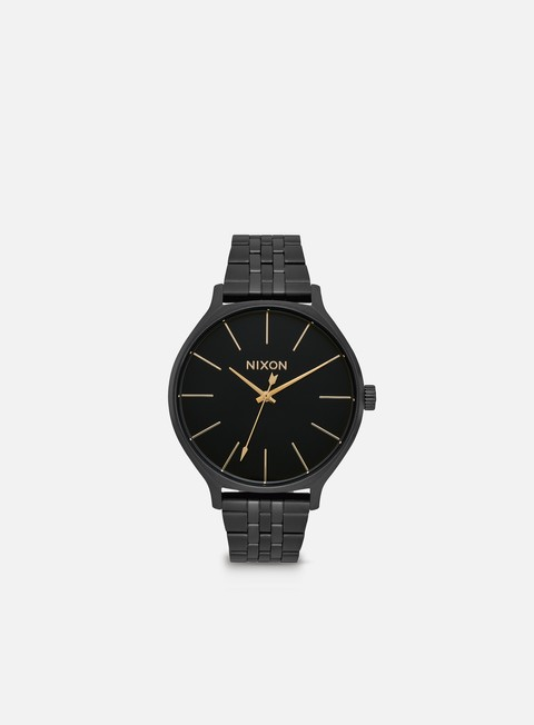 accessori nixon clique all black