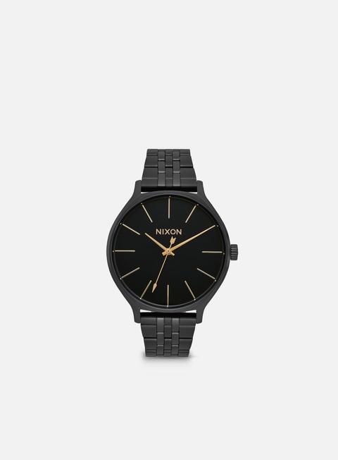 accessori nixon clique all black