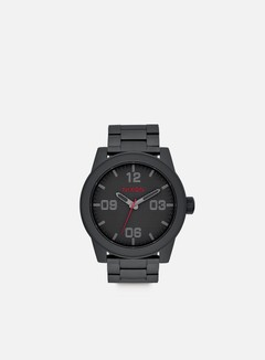 Nixon - Corporal SS, All Black/Stamped 1