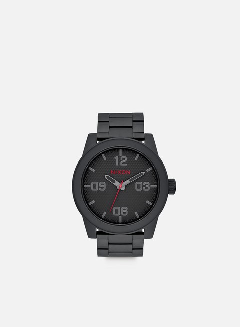 accessori nixon corporal ss all black stamped