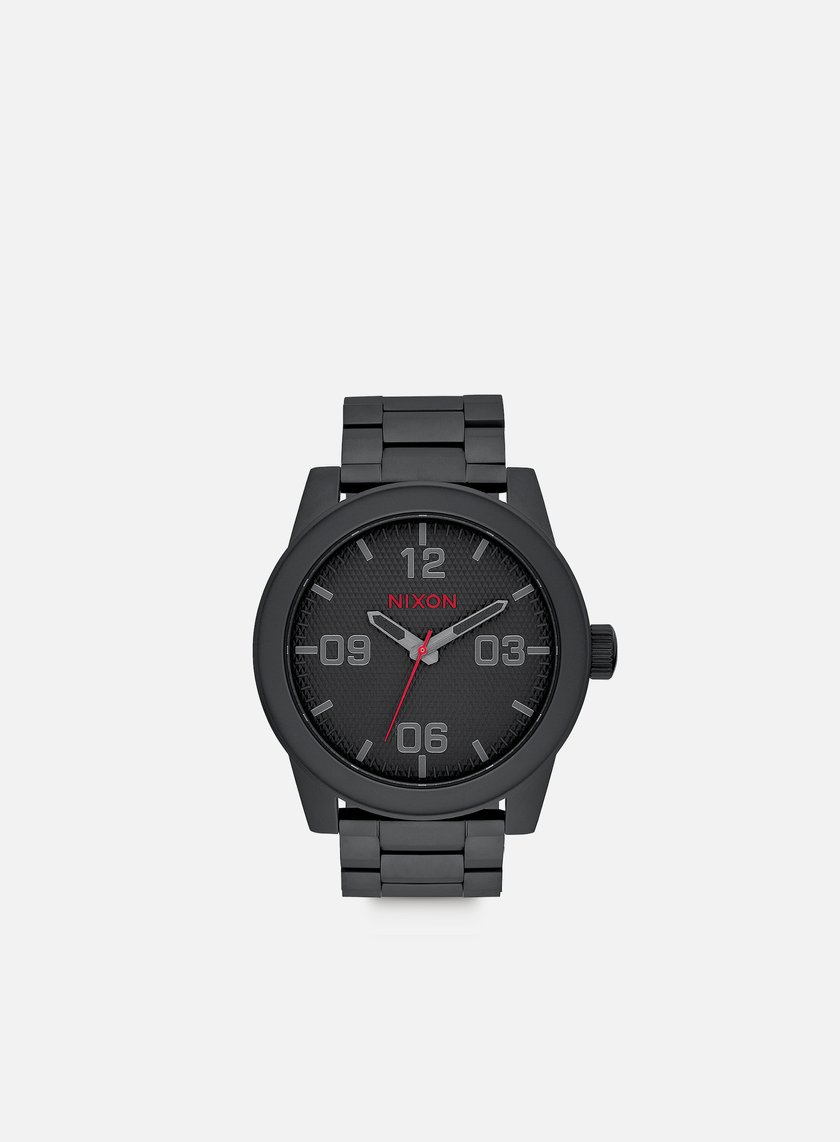 Nixon - Corporal SS, All Black/Stamped